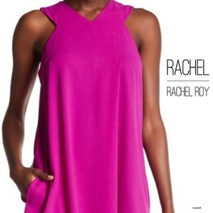 Pleat Front Dress by RACHEL Rachel Roy - Size S